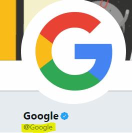 Google handle