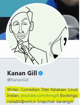 Kanan Gill Bio